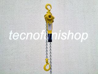 Paranco a leva a catena ton 0,75 - ton 1,5 - ton 3