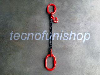 Tirante catena 1 braccio regolabile campanella campanella grado 80