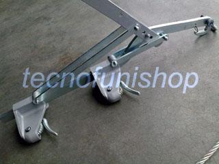 Tirvit f2 tenditore a leva per cavi acciaio 2mm 8mm for Cavi acciaio arredamento
