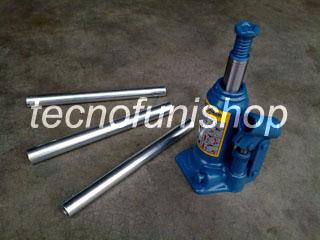 Martinetto idraulico a bottiglia 3,5 ton - Sollevatore idraulico a bottiglia 3,5 ton - Cric a bottiglia 3,5 ton