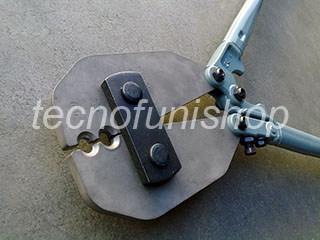 Pinza pressa manuale professionale per piombare cavi acciaio - Pinza per velisti