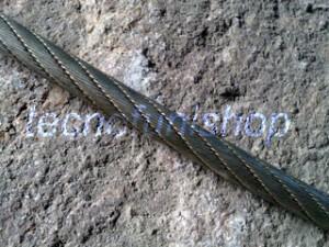 Fune martellata verricello forestale 156 fili - 150 fili
