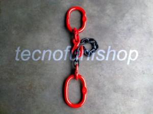 Braca catena 1 braccio regolabile campanella campanella grado 80
