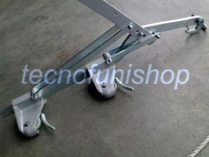 Tirvit tenditore manuale per cavi acciaio
