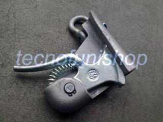 Attacco autoserrante per cavi acciaio - Pinza serrafune per tirvit