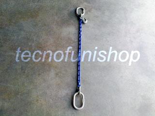 Tirante catena regolabile 1 braccio mm  8 mt 1 campanella campanella gr100