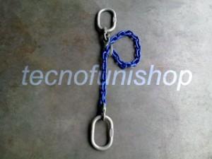 Braca catena 1 braccio regolabile campanella campanella grado 100