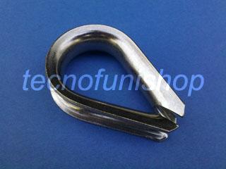 Redancia in acciaio inox per funi e cavi metallici
