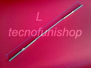 Fune acciaio inox A  9: Cavo acciaio inox strutturale per architettura con terminali filettati maschi
