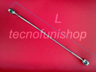 A23B Cavo acciaio inox per scale ringhiere balaustre parapetti