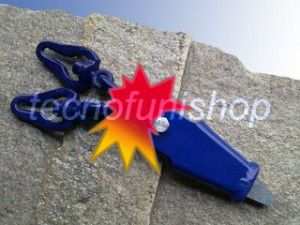 Capocorda a cuneo forestale speciale con due piastre girevoli bloccamaglia per catena choker