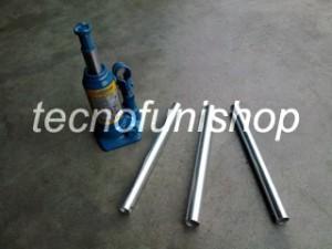 Martinetto idraulico a bottiglia 2 ton - Sollevatore idraulico a bottiglia 2 ton - Cric a bottiglia 2 ton