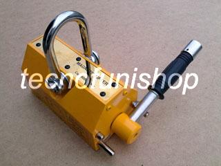 Sollevatore magnetico manuale al neodimio - Sollevatore magnetico a leva - Calamita per sollevamento - Magnete sollevamento lamiere