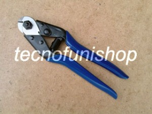 Pinza tagliacavi manuale per funi acciaio - Art TCM001