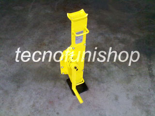Binda meccanica a cremagliera  3 ton per sollevamento – Cric sollevatore meccanico a manovella