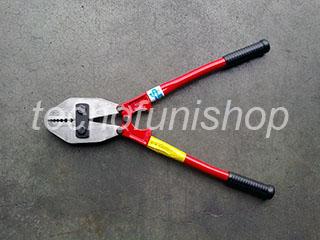 PCM002.035 Pinza pressacavo professionale per pressare, piombare e crimpare funi acciaio mm 1 – 3,5