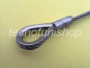 Redancia piombata su fune di acciaio con pressa manuale