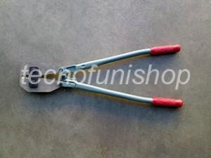 Pinza professionale per pressare funi acciaio 4-4,5mm