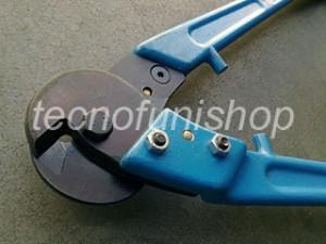 Tagliacavo manuale professionale a cesoia per funi acciaio
