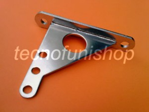 ARC060 Staffa inox per terminali e tenditori a forcella di funi per arredamento e architettura - Staffa a muro - Staffa a parete