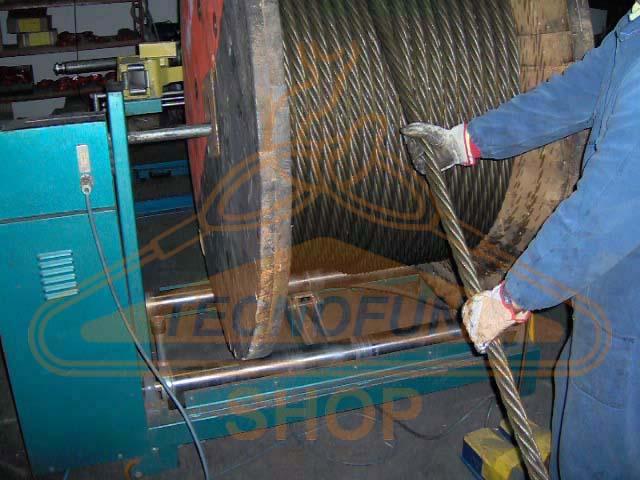 Produzione cavi di acciaio