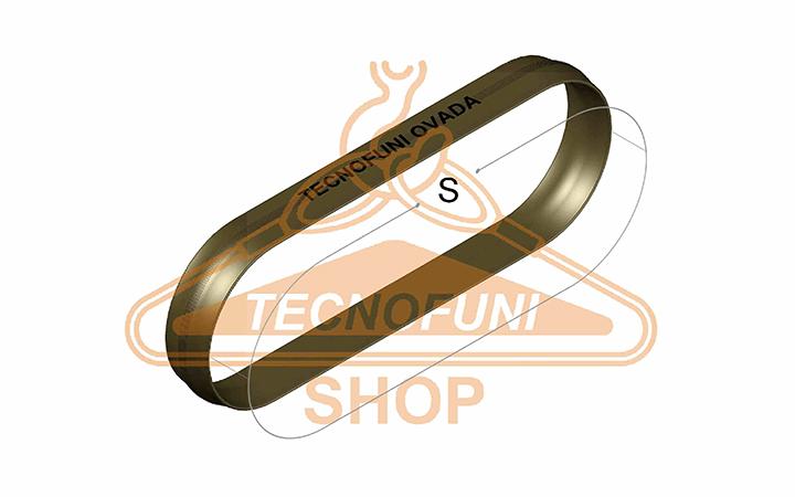 Sviluppo Fune tonda ad anello marrone Portata kg 6000