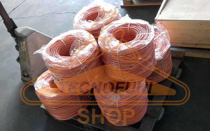 Rotoli di cavi in polipropilene