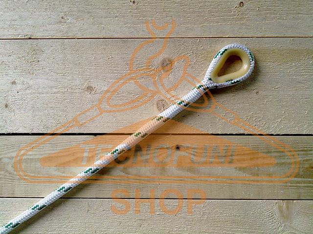 Impalmatura di redancia nylon su corda doppia treccia in poliestere alta tenacità