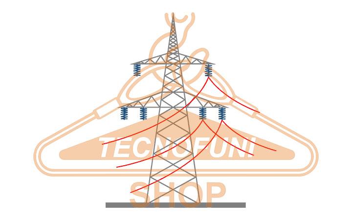Tesatura linee elettriche